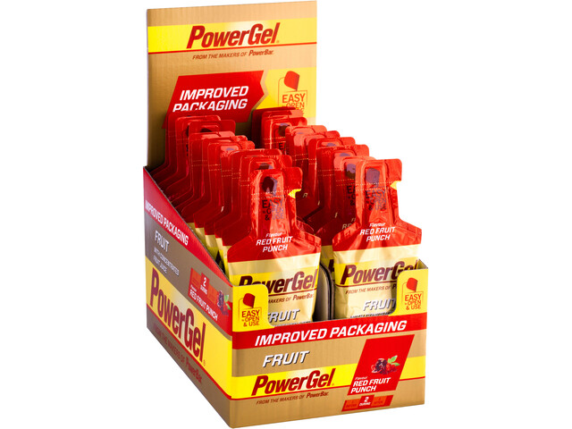PowerBar New PowerGel Fruit Box 24x41g, Red Fruit Punch